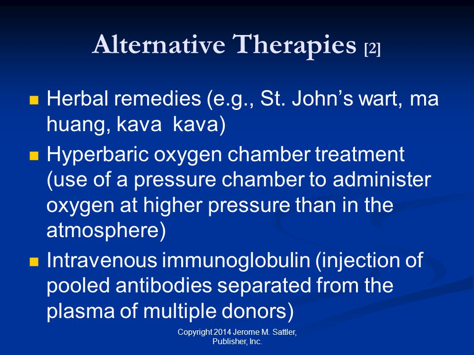 Alternative Therapies [2]